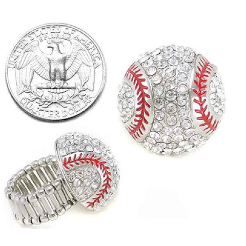 Baseball Stretch Ring