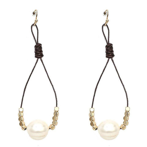 Dangle Freshwater Pearl Earrings