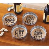Beer Bottle Coaster
