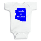 Made in Arizona Vinyl Onesie