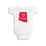 Made in Arizona Glitter Onesie