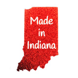 Made in Indiana Glitter Onesie
