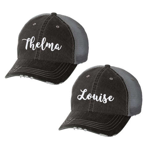 Thelma & Louise Distressed Ladies Trucker Hats