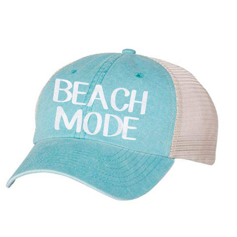 Beach Mode Vintage Unisex Hat