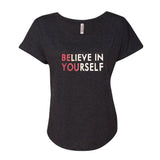 Believe in Yourself Glitter Shirt