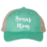 Bonus Mom Vintage Ponytail Hat