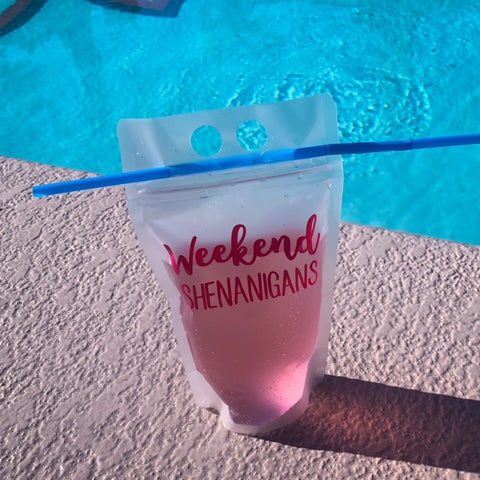 Weekend Shenanigans Drink Pouch