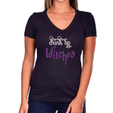 Drink Up Witches Glitter Short Sleeve Shirt