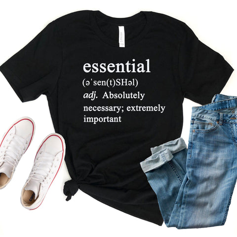 Essential Defintion Unisex Shirt