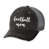 Football Mom Distressed Ladies Trucker Hat