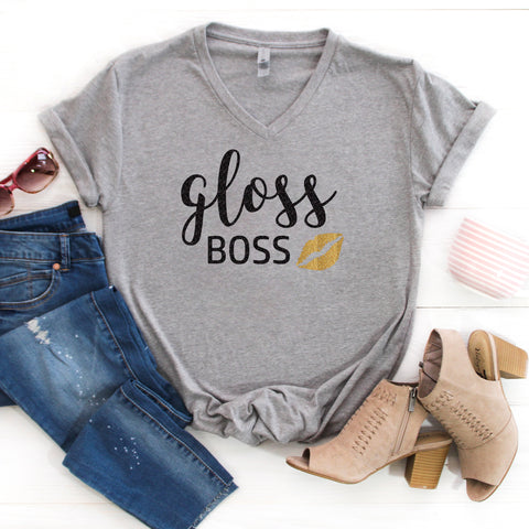Gloss Boss Glitter Shirt