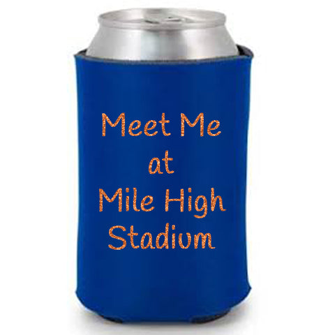 Meet Me At Mile High Stadium Can Cooler