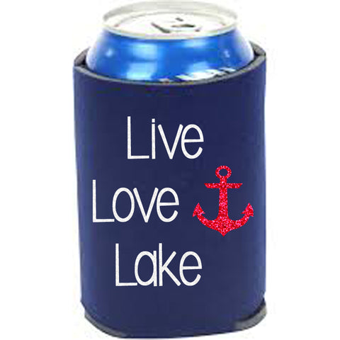 Live Love Lake Can Cooler