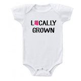 Locally Grown Onesie (Pink State)
