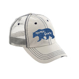 Mama Bear Distressed Ladies Trucker Hat