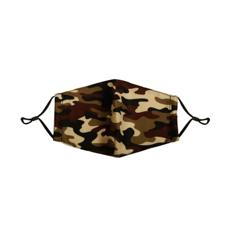 Filtered Camo Face Mask