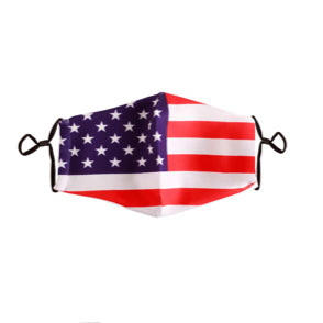 Filtered USA Flag Face Mask