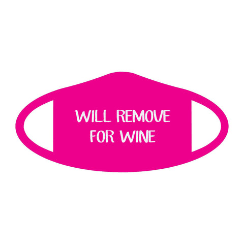Fashionable Will Remove for Wine Face Mask
