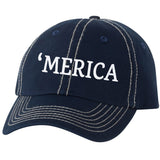 'Merica Stiched Baseball Hat