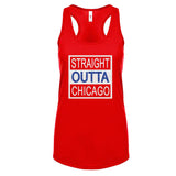 Straight Outta Chicago Cubs Tank