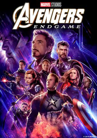 Avengers Endgame HDX VUDU or HD iTunes via MA