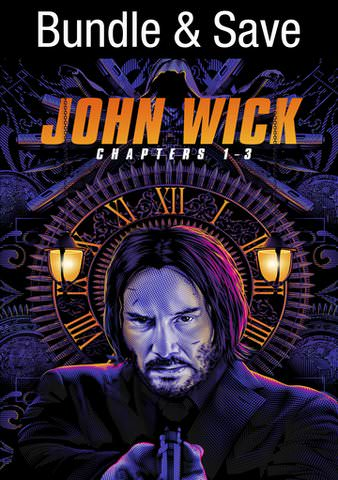 John Wick Triple Feature HDX VUDU (IW)