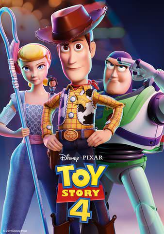 Toy Story 4 HD Google Play (Redeems at Google Play Transfers to VUDU & iTunes via Movies Anywhere)