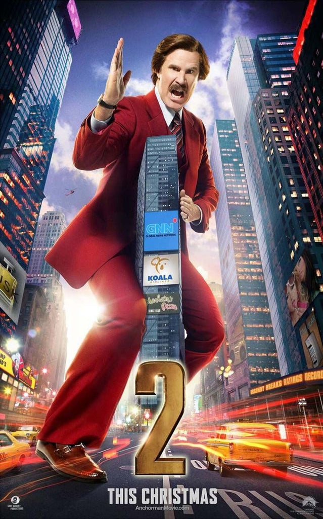 Anchorman 2: The Legend Continues HDX UV Only - Digital Movies