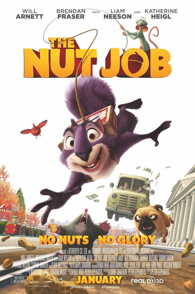 Nut Job HD iTunes - Digital Movies