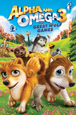 Alpha and Omega 3: The Great Wolf Games SD UV