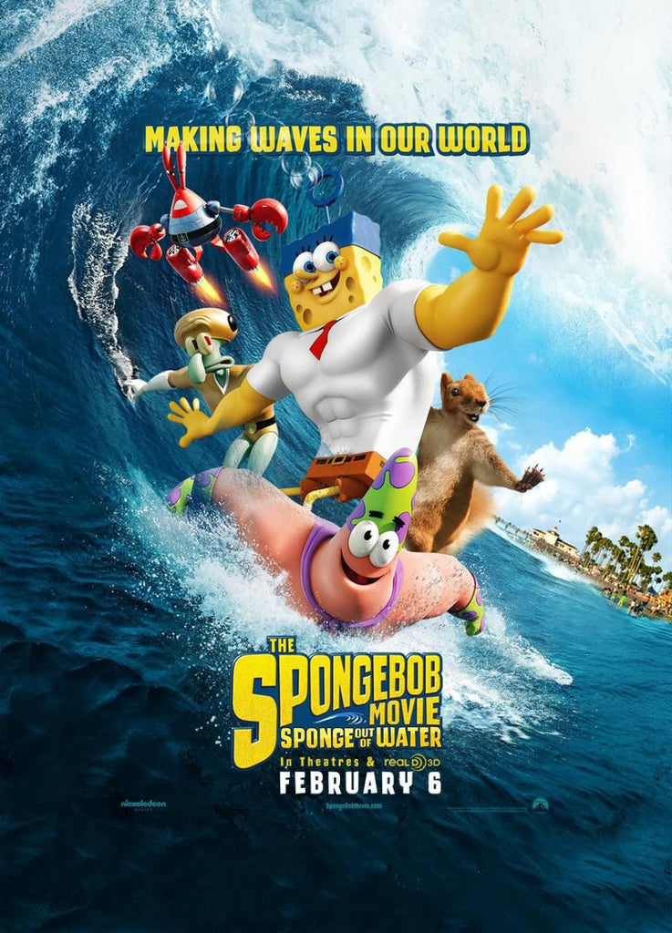 The SpongeBob Movie: Sponge Out of Water HD iTunes - Digital Movies