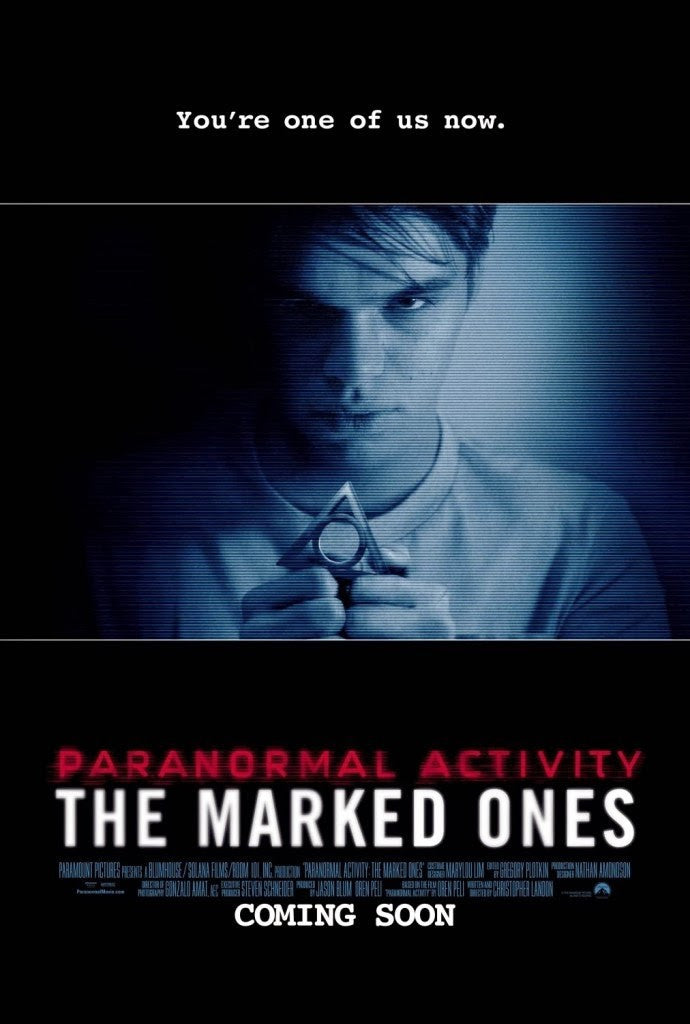 Paranormal Activity: The Marked Ones HDX UV - Digital Movies