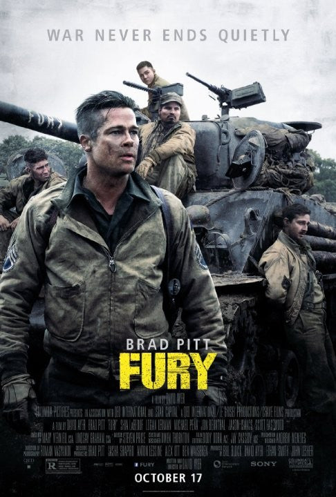 Fury HDX UV - Digital Movies