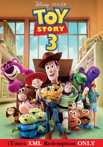 Toy Story 3 HD iTunes XML - Digital Movies