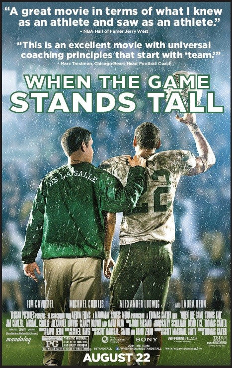 When the Game Stands Tall HDX UV - Digital Movies