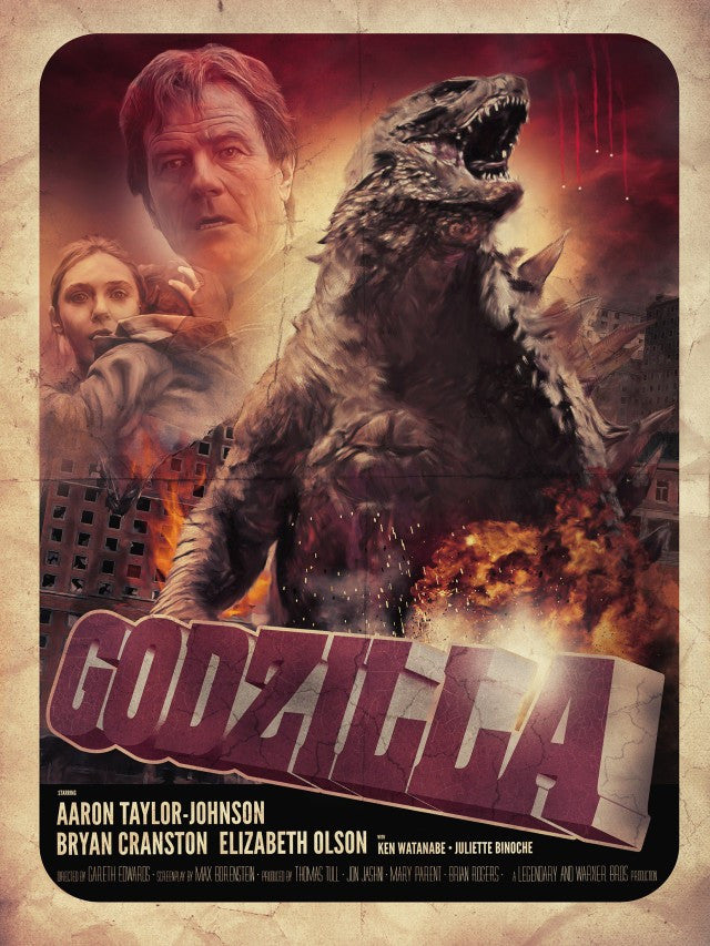 Godzilla HDX UV - Digital Movies