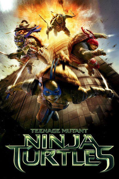 Teenage Mutant Ninja Turtles (2014) HD iTunes - Digital Movies
