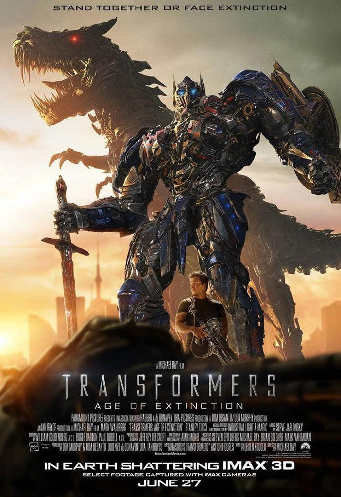 Transformers Age of Extinction HD iTunes - Digital Movies