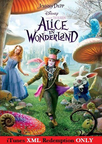 Alice in Wonderland iTunes XML (Must Know How to Redeem)