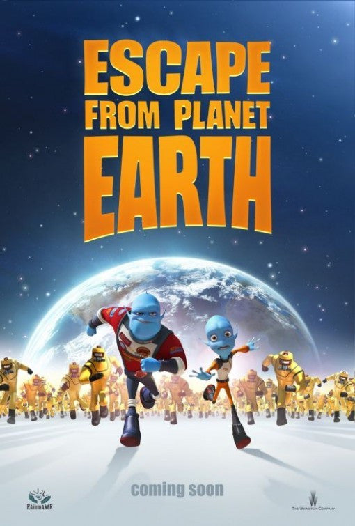 Escape From Planet Earth HDX UV - Digital Movies