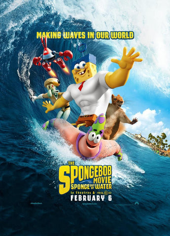 The SpongeBob Movie: Sponge Out of Water HDX VUDU