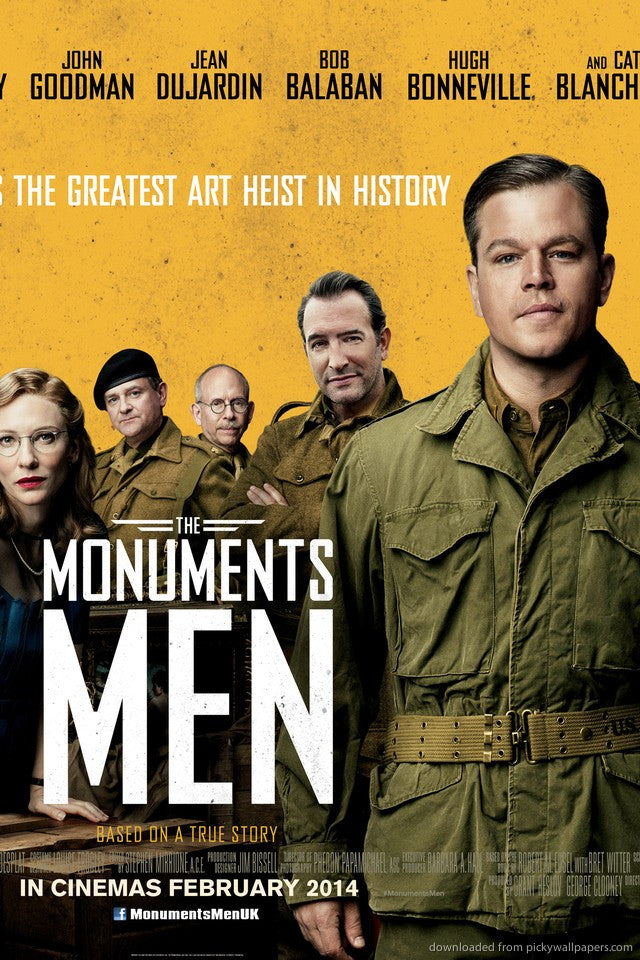Monuments Men SD UV - Digital Movies