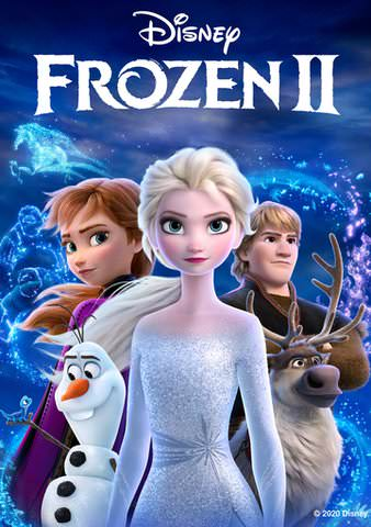 Frozen II HDX VUDU or iTunes via MA