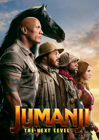 Jumanji: The Next Level  HDX VUDU IW (Will Transfer to MA & iTunes) Super Early Release!