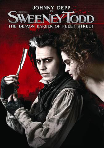 Sweeney Todd The Demon Barber Of Fleet Street HDX UV - Digital Movies