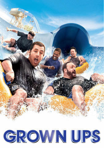 Grown Ups SD UV - Digital Movies