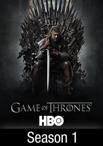 Game of Thrones Season 1 HDX UV/Vudu - Digital Movies
