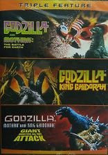 Godzilla Triple Feature SD UV/Vudu