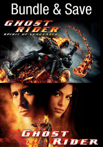 Ghost Rider Double Feature HDX VUDU IW (Will Transfer to MA & iTunes)