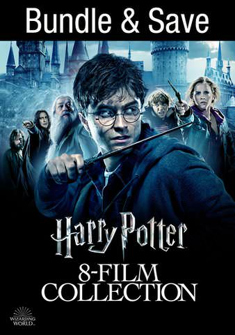 Harry Potter 8 Film Collection HDX VUDU IW (Will Transfer to MA & iTunes)